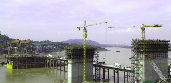 桥完成下部结构施工