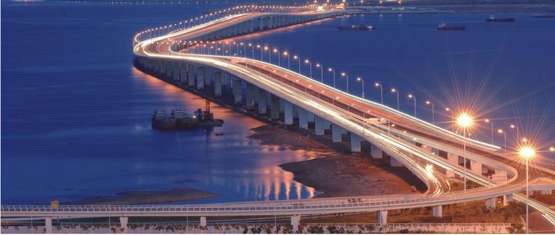 俄罗斯岛大桥梁设计图
